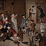 John Greenwood – Sea Captains Carousing in Surinam, ca. 1752-58 , part 2 American painters