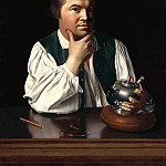 John Singleton Copley – Paul Revere, 1768 , part 2 American painters
