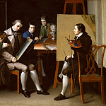 Matthew Pratt – The American School, 1765 , part 2 American painters