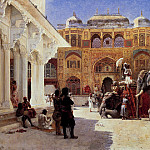Weeks Edwin Arrival Of Prince Humbert The Rajah At The Palace Of Amber, Edwin Lord Weeks