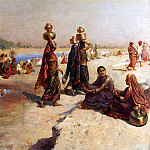 Weeks Edwin Water Carriers Of The Ganges, Edwin Lord Weeks