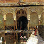 Weeks Edwin Lord A Court in The Alhambra in the Time of the Moors, Edwin Lord Weeks