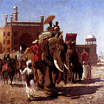 Weeks Edwin The Return Of The Imperial Court From The Great Mosque At Delhi, Edwin Lord Weeks