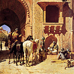 Weeks Edwin Gate Of The Fortress At Agra India, Edwin Lord Weeks