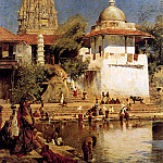 Weeks Edwin The Temple And Tank Of Walkeshwar At Bombay, Edwin Lord Weeks