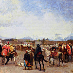 Weeks Edwin Lord Powder Play City of Morocco outside the Walls, Edwin Lord Weeks