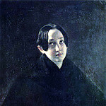 Portrait of EI Durnova, wife of the artist Ivan T. Durnova. 1836, Karl Pavlovich Bryullov