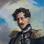 Portrait of Adjutant General Count Vasily Alekseevich Perovsky, Vasily Perov