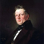 Portrait of the architect A. Bolotov. 1843, Karl Pavlovich Bryullov