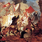 Siege of Pskov Polish King Stephen Bathory in 1581. 1836 -1837, Karl Pavlovich Bryullov