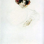Karl Pavlovich Bryullov - Portrait of an Unknown Woman in a turban. Around 1830