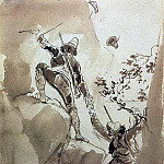 Karl Pavlovich Bryullov - Mountain hunters. 1,835