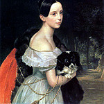 Karl Pavlovich Bryullov - Portrait of William M. Smirnova. 1837-1840