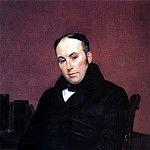 Portrait of the poet Vasily Zhukovsky. 1837, Karl Pavlovich Bryullov