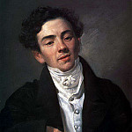 Karl Pavlovich Bryullov - Portrait of the actor AN Ramazanova. 1821-1822