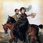 Karl Pavlovich Bryullov - Portrait of KA and M. Ya Naryshkins. 1827