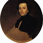 Portrait of the actor Vladimir Samoilov. 1847, Karl Pavlovich Bryullov