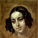 Karl Pavlovich Bryullov - Head girl. 1830