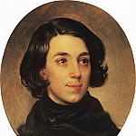 Karl Pavlovich Bryullov - Portrait of the architect I. Monighetti. 1840