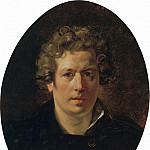 Self-portrait. Around 1833, Karl Pavlovich Bryullov
