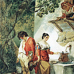 Interrupted date . End 1820, Karl Pavlovich Bryullov