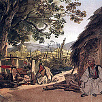 Greek morning in Miraka. 1,835, Karl Pavlovich Bryullov