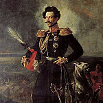 Portrait of Adjutant General Count Vasily Perovsky, Vasily Perov