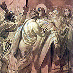 kiss of Judas. 1843-1847, Karl Pavlovich Bryullov