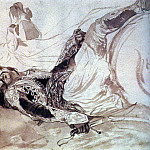 Karl Pavlovich Bryullov - Wounded Greek, falling from a horse. 1,835