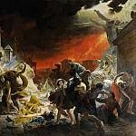 The Last Day of Pompeii, Karl Pavlovich Bryullov