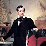 Portrait of the architect and artist Alexander Briullov. Not later than 1841, Karl Pavlovich Bryullov