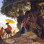 The Bogoroditsky oak. 1,835, Karl Pavlovich Bryullov