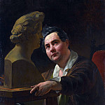 Karl Pavlovich Bryullov - Portrait of the sculptor Ivan Vitali. 1836-1837