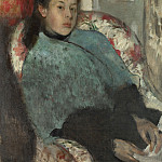 Hilaire Germain-Edgar Degas – Portrait of Elena Carafa, Part 3 National Gallery UK