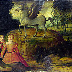 Part 3 National Gallery UK - Girolamo Romanino - Pegasus and the Muses