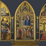 Giusto de Menabuoi – The Coronation of the Virgin, and Other Scenes, Part 3 National Gallery UK