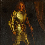 Imitator of Giorgione – A Man in Armour, Part 3 National Gallery UK