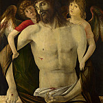 Giovanni Bellini – The Dead Christ supported by Angels, Part 3 National Gallery UK