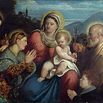 Part 3 National Gallery UK - Giovanni Cariani - The Holy Family with Saints and a Donor