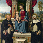Garofalo – The Virgin and Child with Saints, Part 3 National Gallery UK