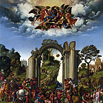 Part 3 National Gallery UK - Girolamo da Treviso - The Adoration of the Kings