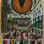 Gerolamo da Vicenza – The Dormition and Assumption of the Virgin, Part 3 National Gallery UK