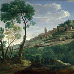 Hendrik Frans van Lint – A Landscape with an Italian Hill Town, Part 3 National Gallery UK