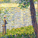 Georges Seurat – The Morning Walk, Part 3 National Gallery UK