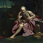 Giuseppe Maria Crespi – Saint Jerome in the Desert, Part 3 National Gallery UK