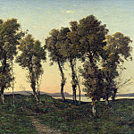 Henri-Joseph Harpignies – Autumn Evening, Part 3 National Gallery UK