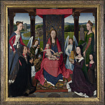 The Donne Triptych, Hans Memling