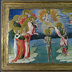 Giovanni di Paolo – The Baptism of Christ – Predella Panel, Part 3 National Gallery UK