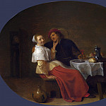 Part 3 National Gallery UK - Hendrick Sorgh - Two Lovers at Table