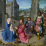 Gerard David – Adoration of the Kings, Part 3 National Gallery UK